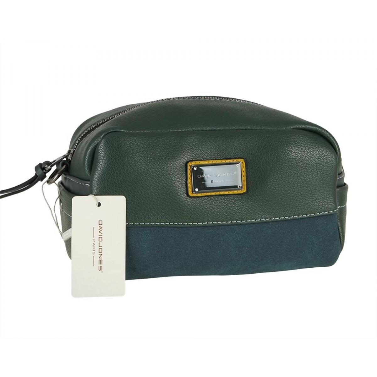 Жіноча сумка David Jones 6121-1 D.GREEN