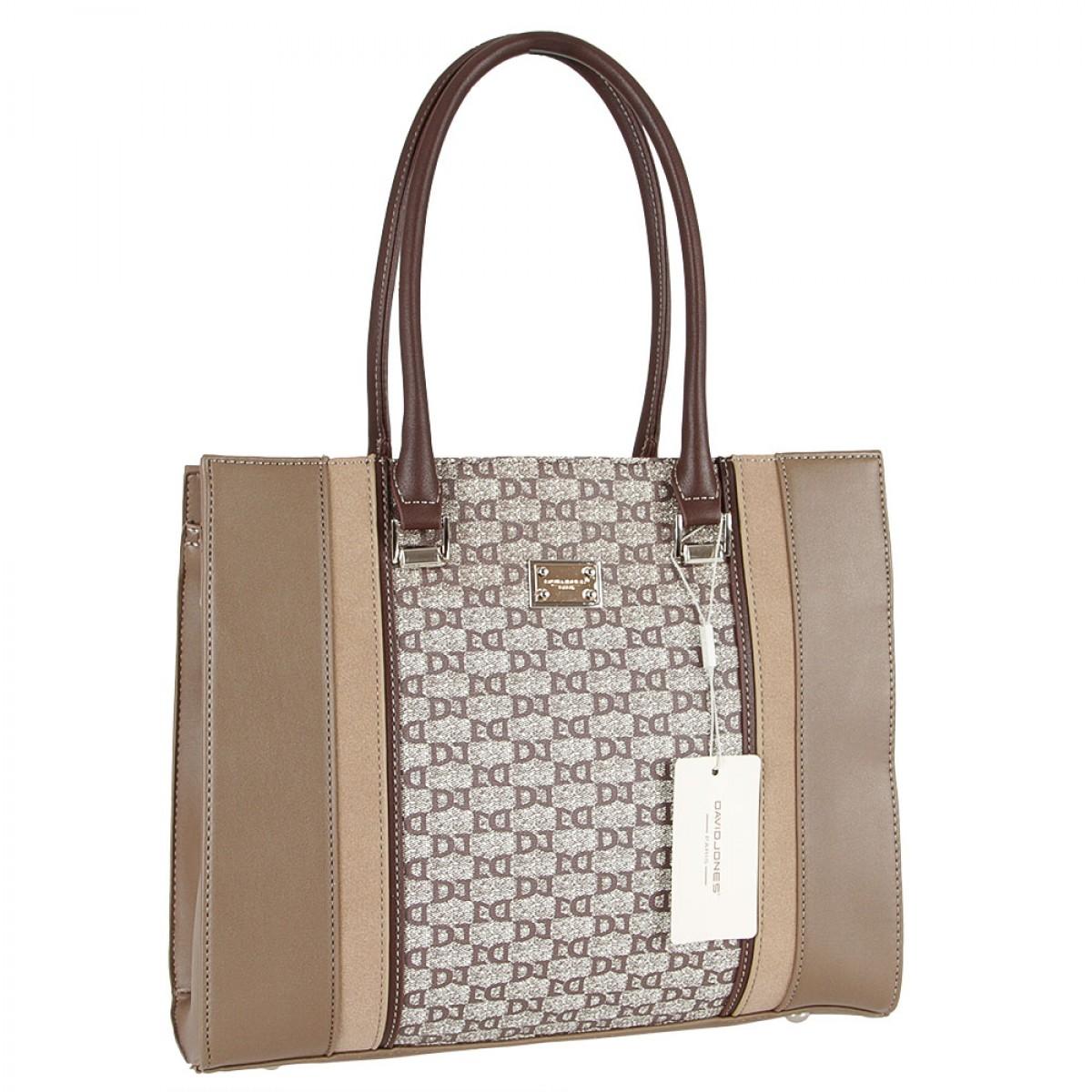 Жіноча сумка David Jones 6122-2 D.CAMEL