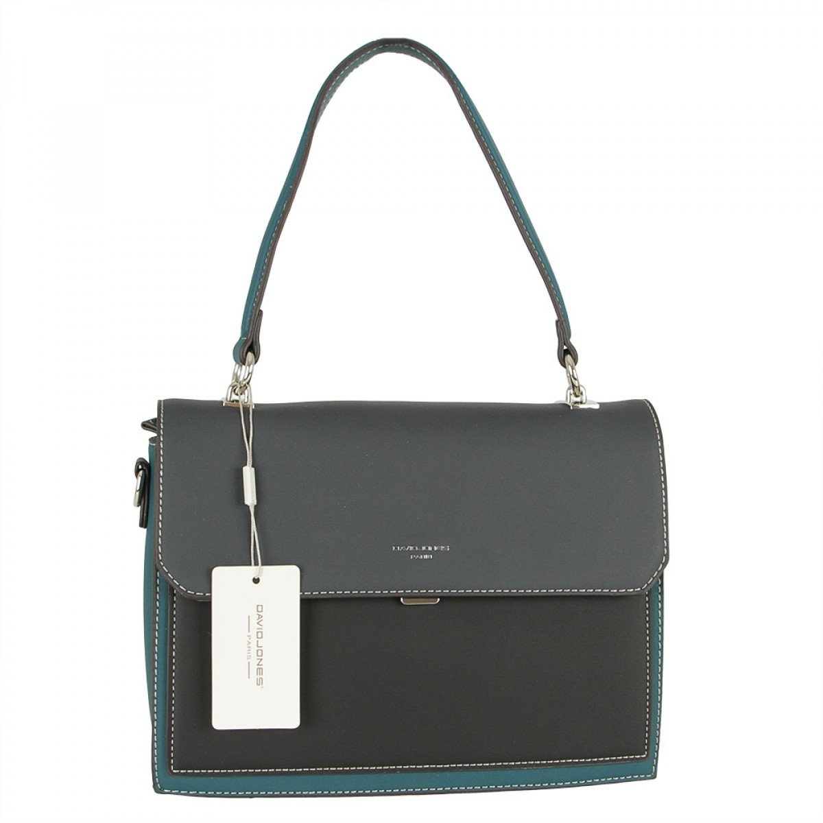 Жіноча сумка David Jones 6125-2 D.GREEN