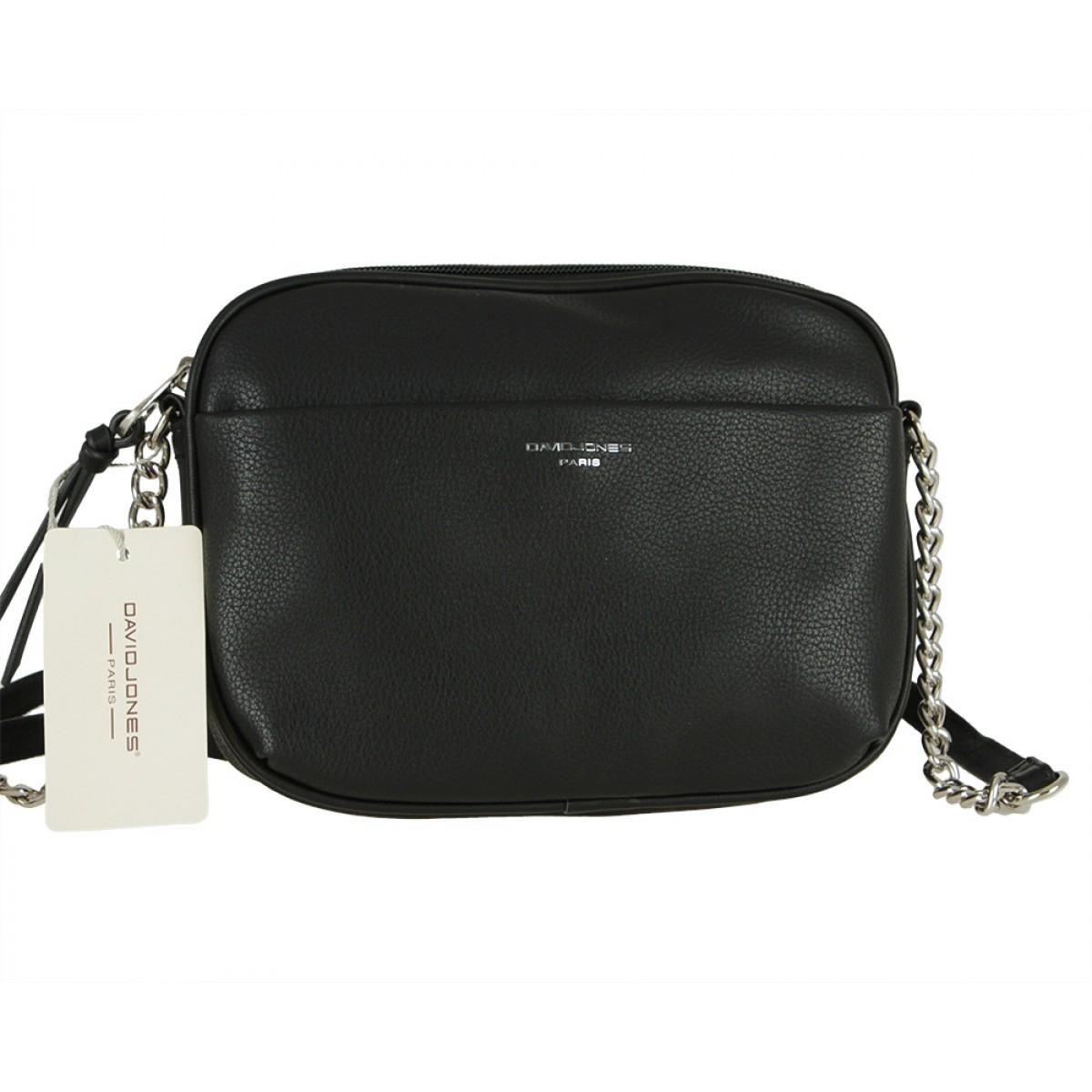 Жіноча сумка David Jones 6129-1 BLACK