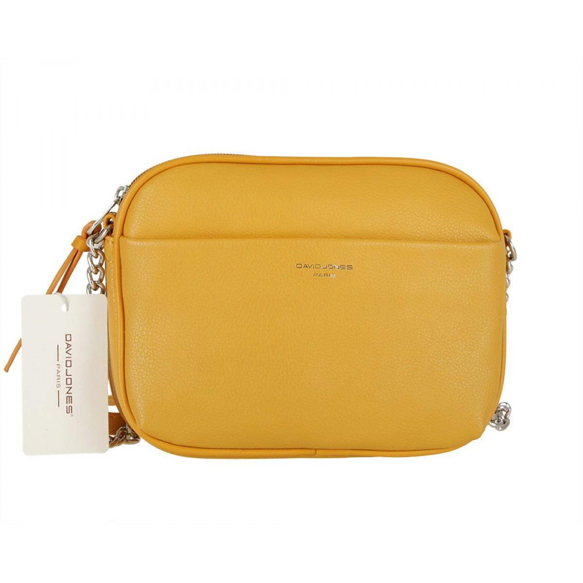 Жіноча сумка David Jones 6129-1 YELLOW