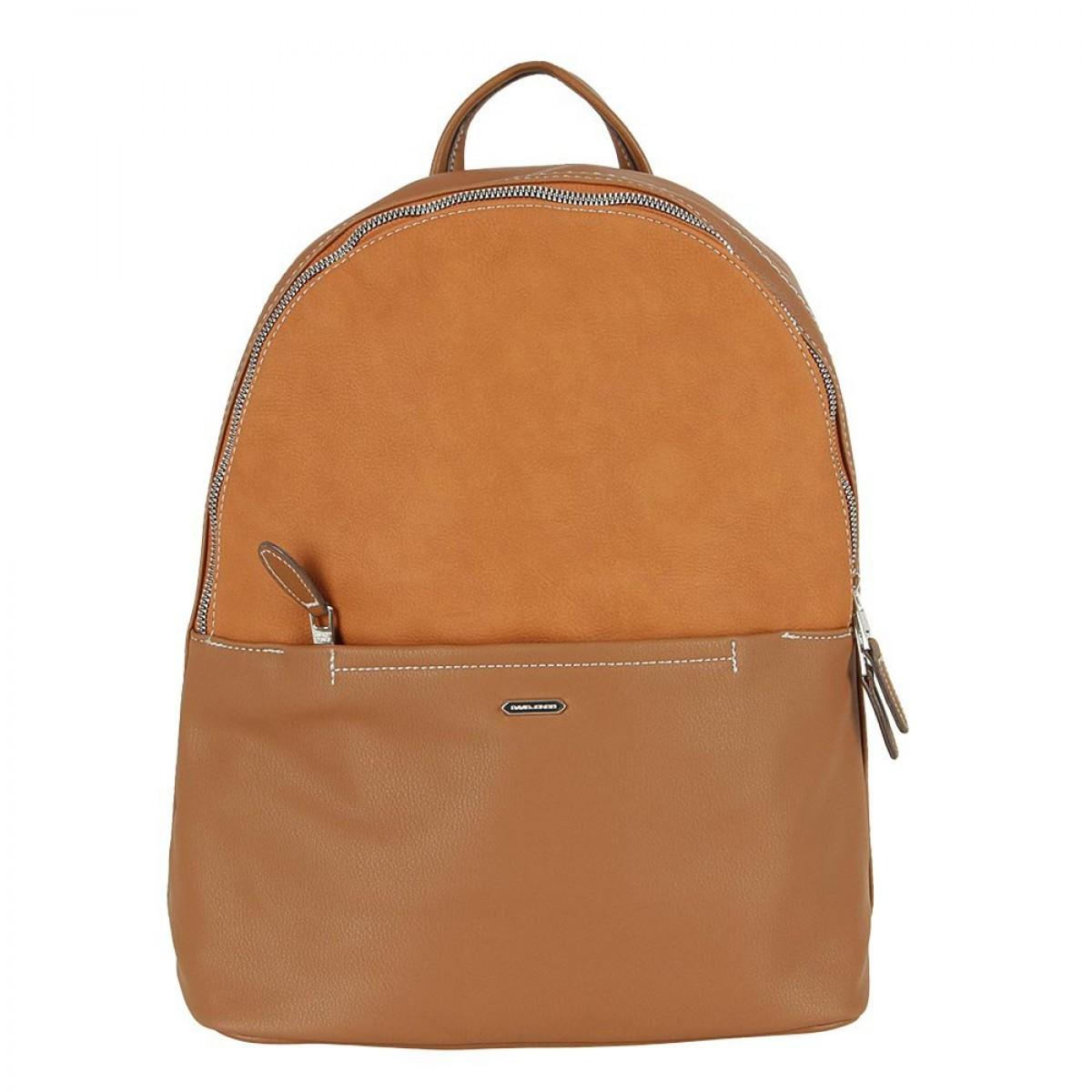 Жіночий рюкзак David Jones 6129-2 COGNAC