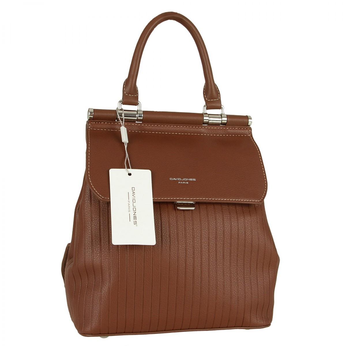 Жіночий рюкзак David Jones 6131-2 BROWN