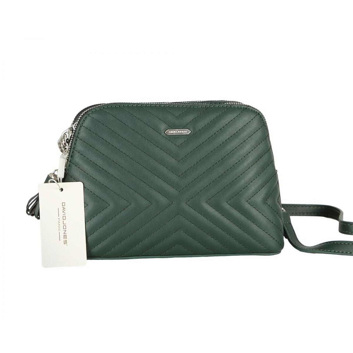 Жіноча сумка David Jones 6146-1 D.GREEN