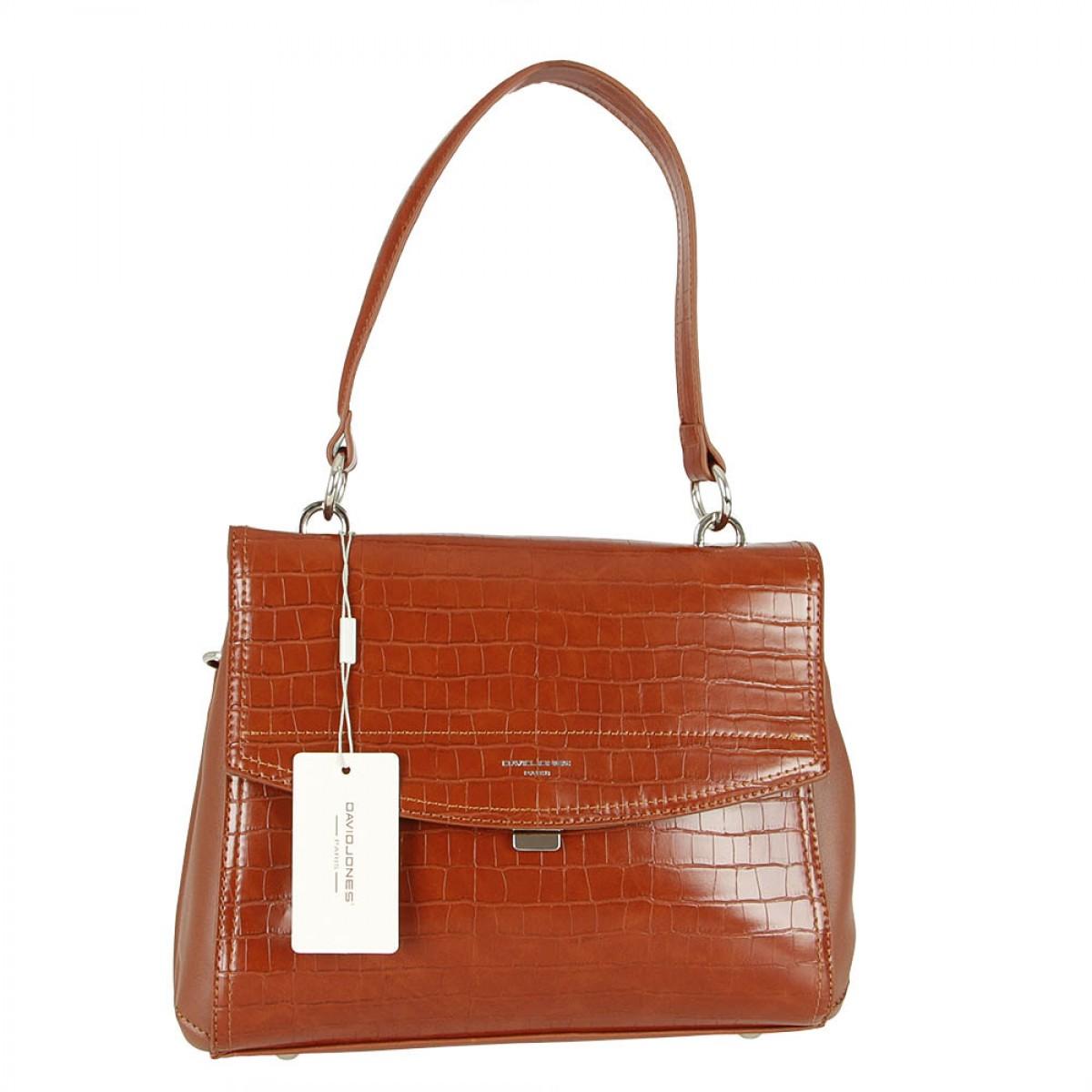 Жіноча сумка David Jones 6148-2 BROWN