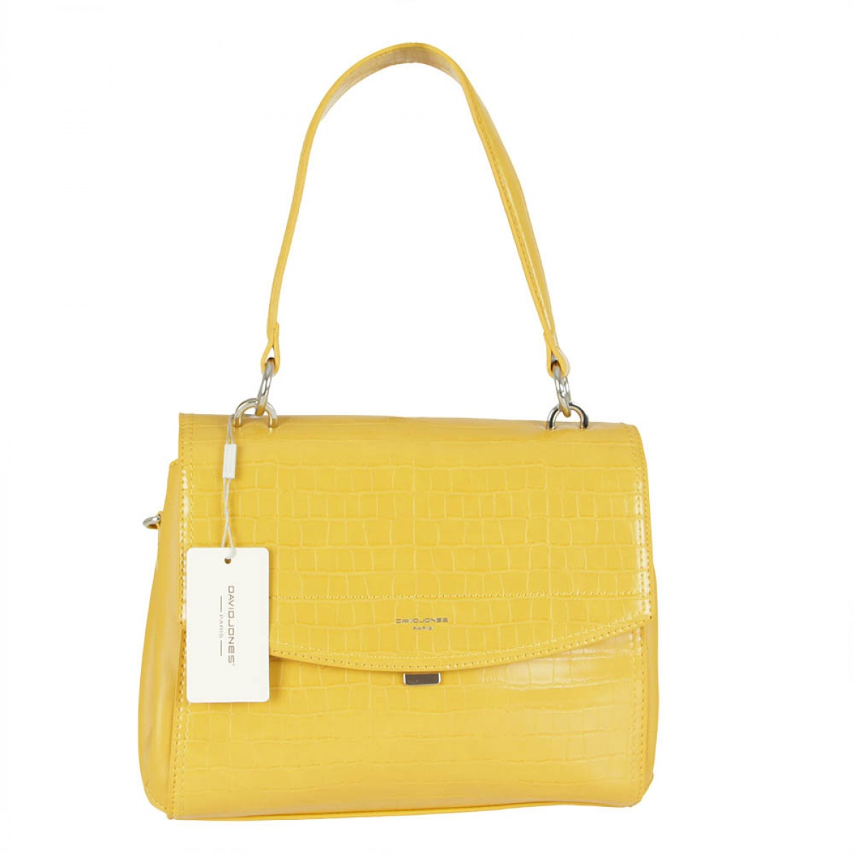 Жіноча сумка David Jones 6148-2 MUSTARD