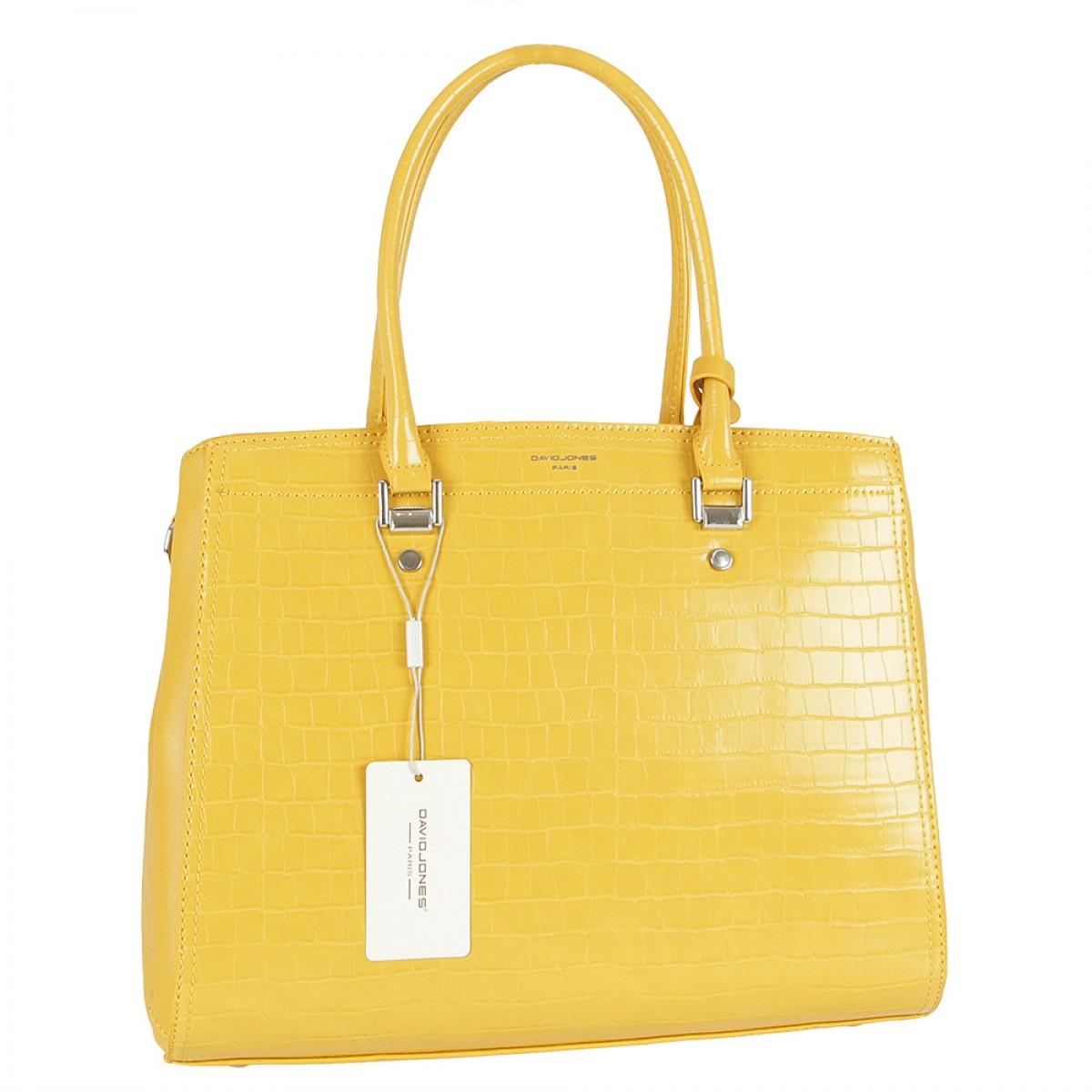 Жіноча сумка David Jones 6148-4 MUSTARD