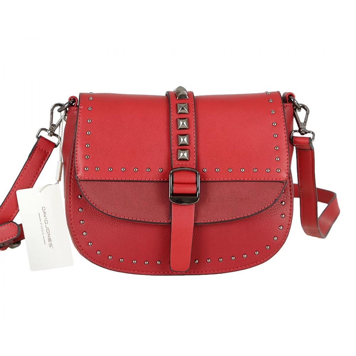 Жіноча сумка David Jones 6151-1 RED