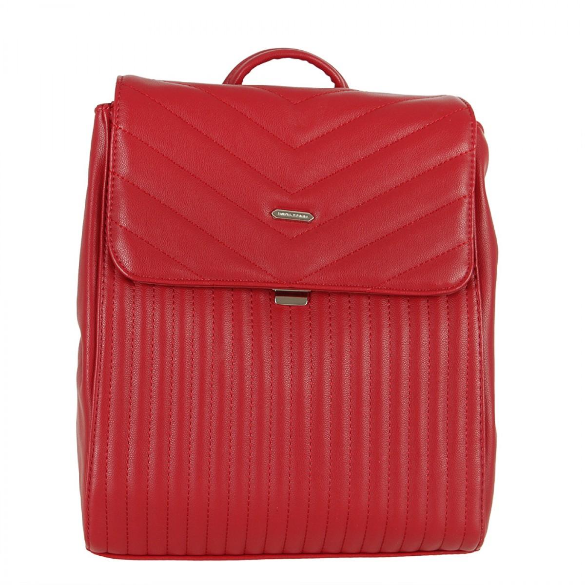 Жіночий рюкзак David Jones 6158-2 DARK RED