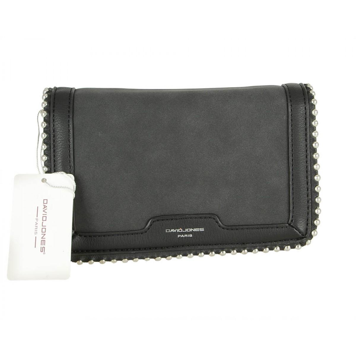 Жіноча сумка David Jones 6165-2 BLACK