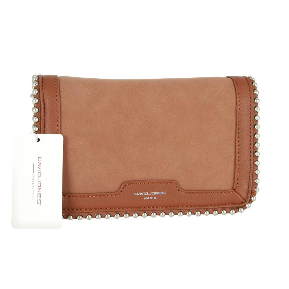 Жіноча сумка David Jones 6165-2 BROWN
