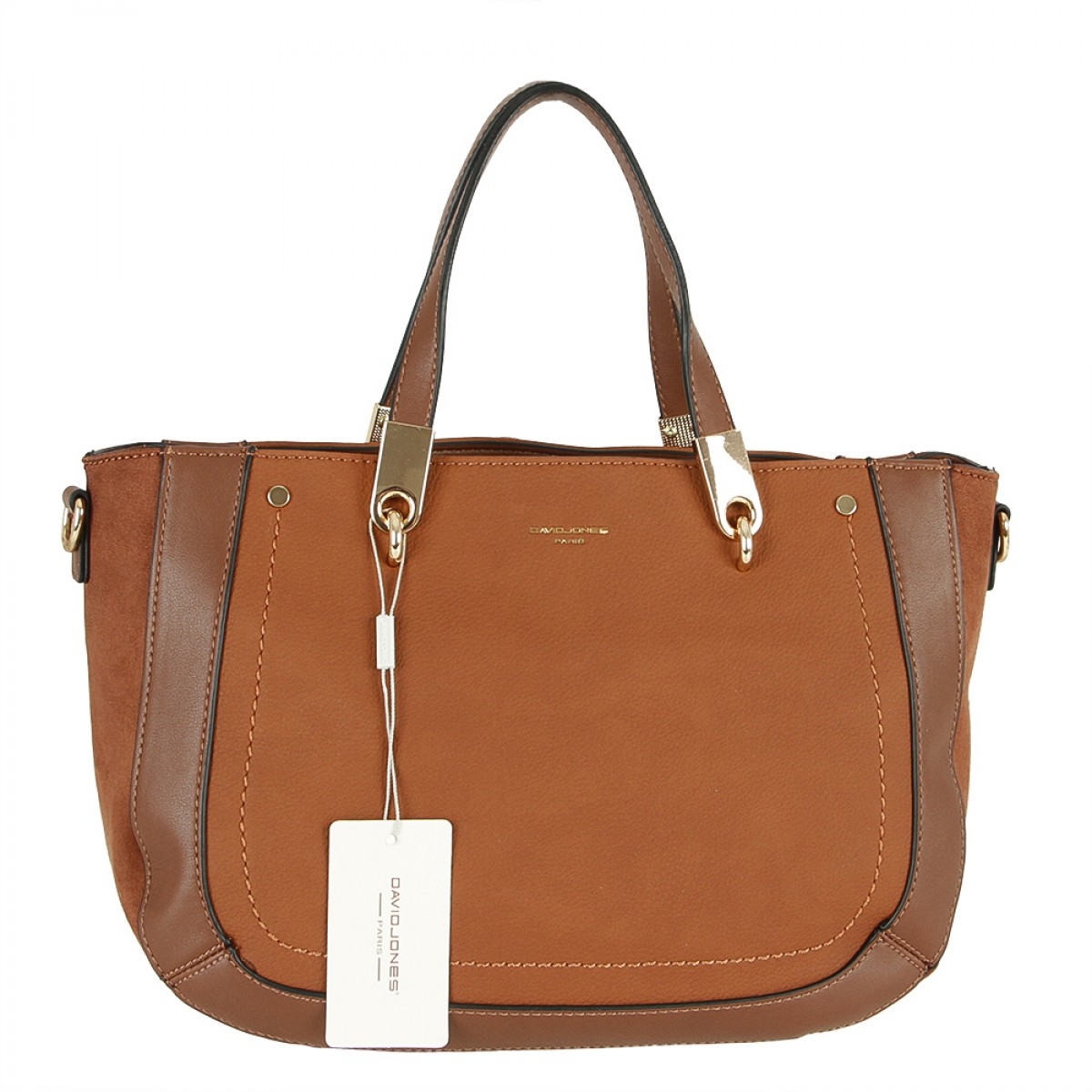Жіноча сумка David Jones 6168-2 BROWN