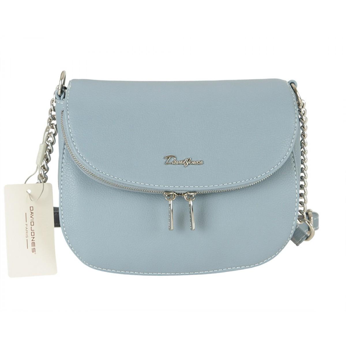 Жіноча сумка David Jones 6200-1A L.BLUE