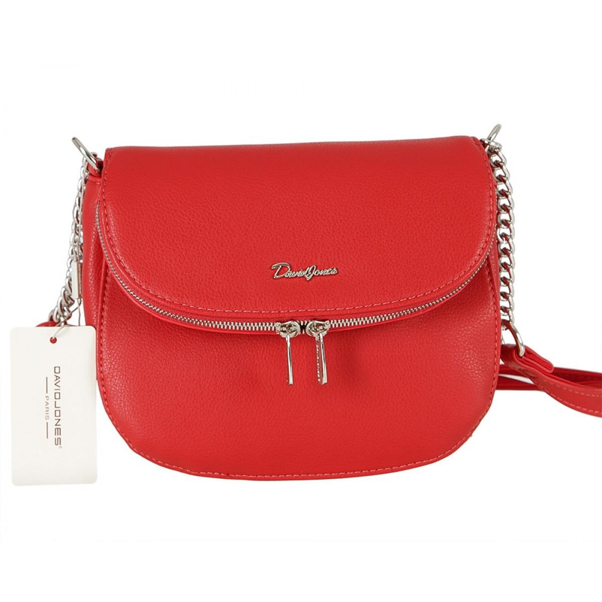 Жіноча сумка David Jones 6200-1A RED
