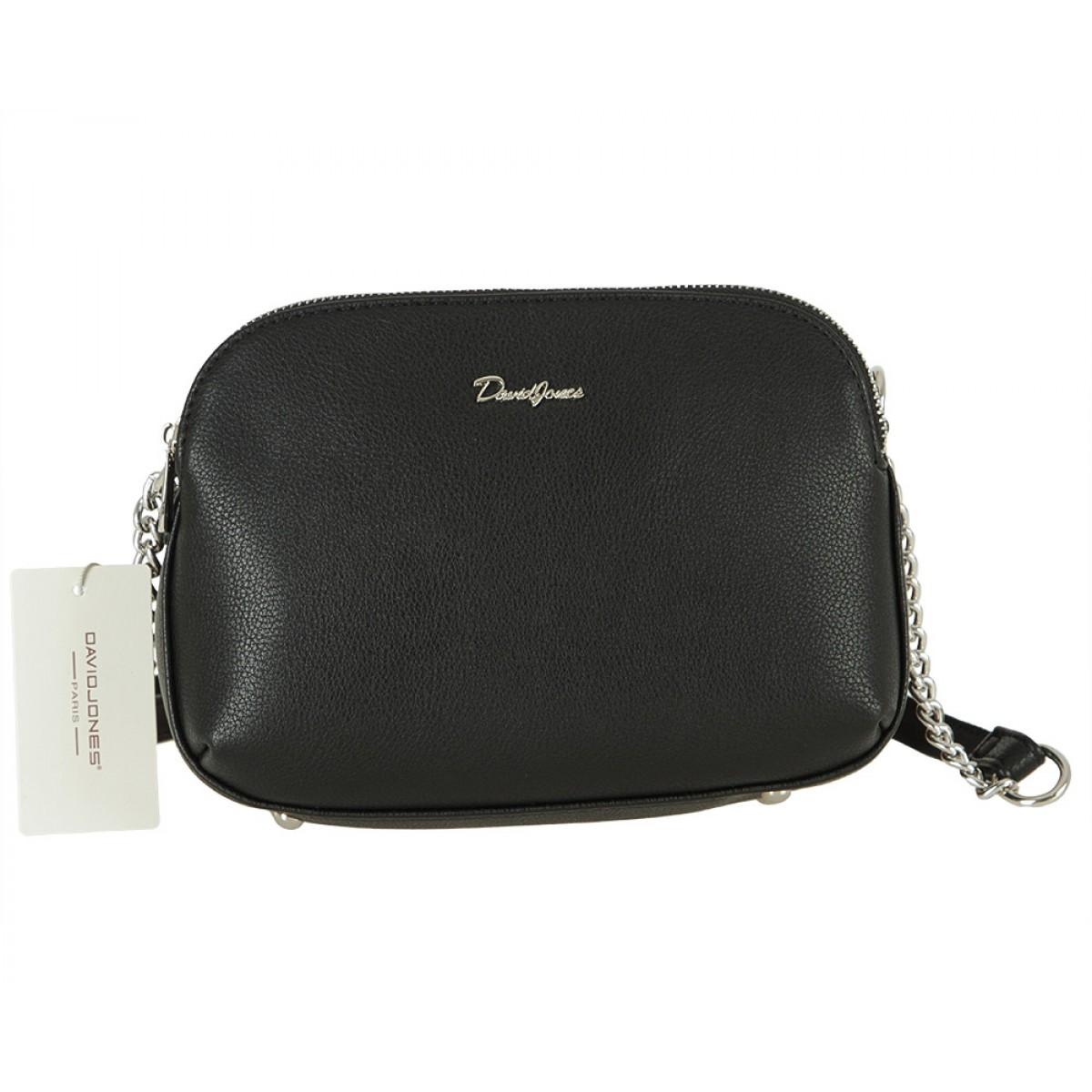 Жіноча сумка David Jones 6200-2A BLACK