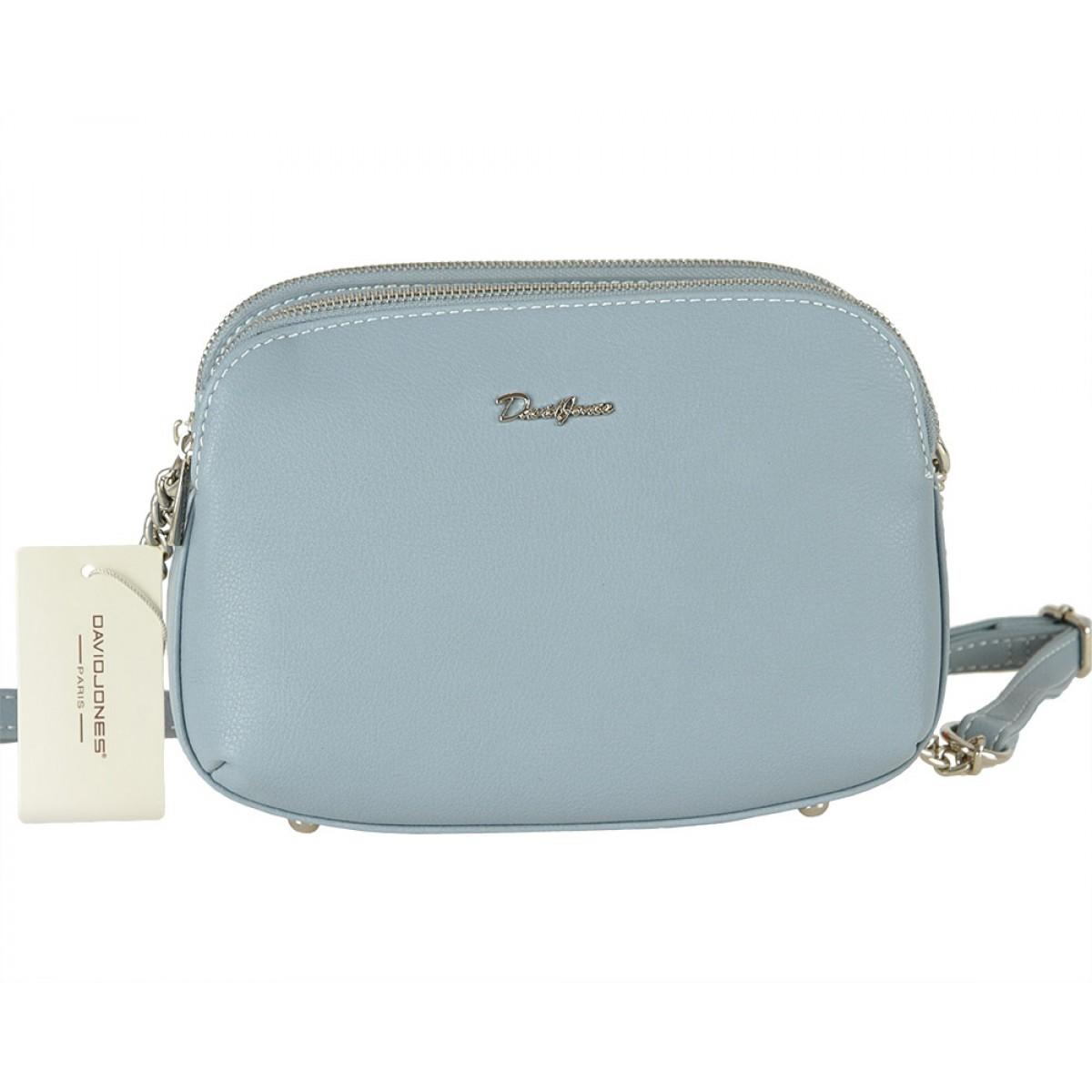Жіноча сумка David Jones 6200-2A L.BLUE