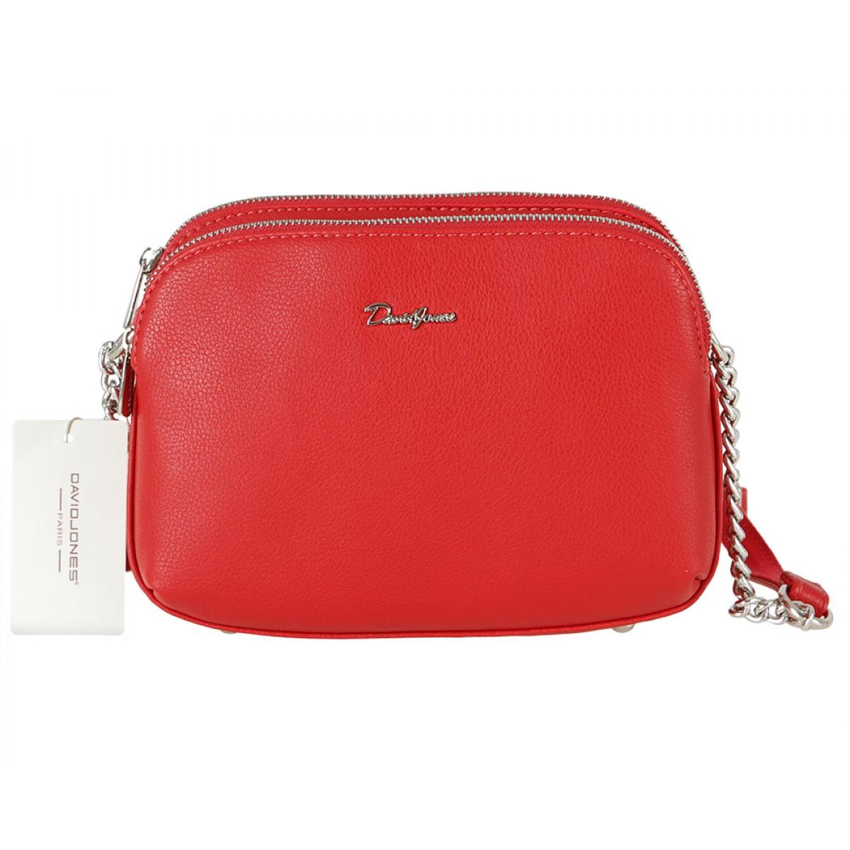 Жіноча сумка David Jones 6200-2A RED