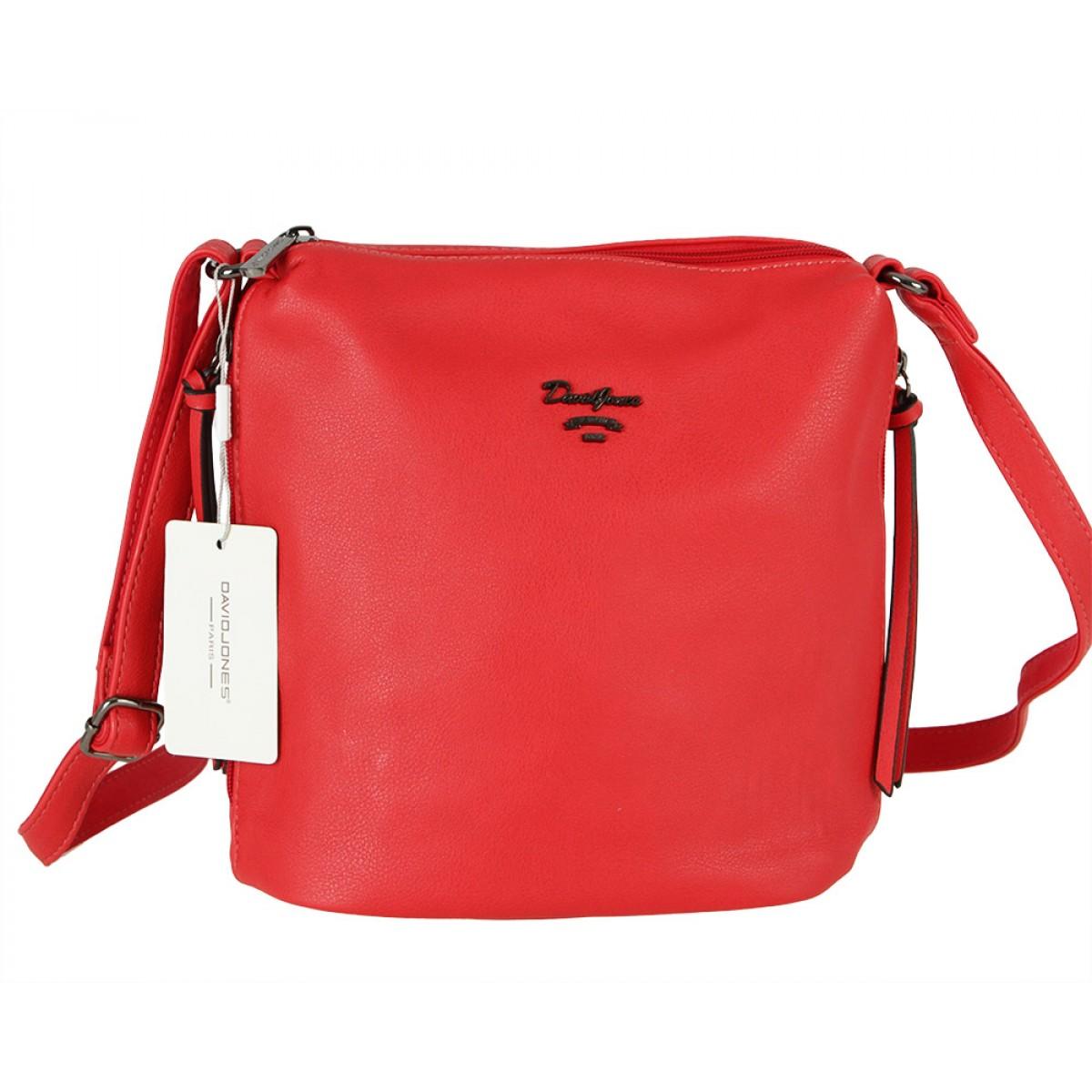 Жіноча сумка David Jones 6202-1A RED