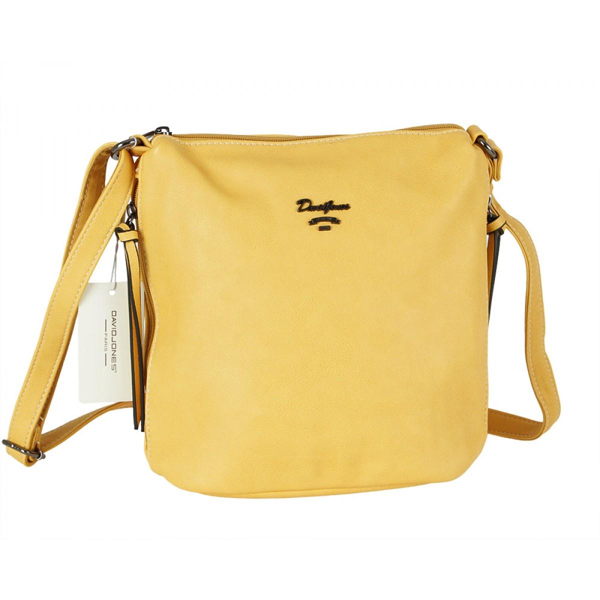Жіноча сумка David Jones 6202-1A YELLOW