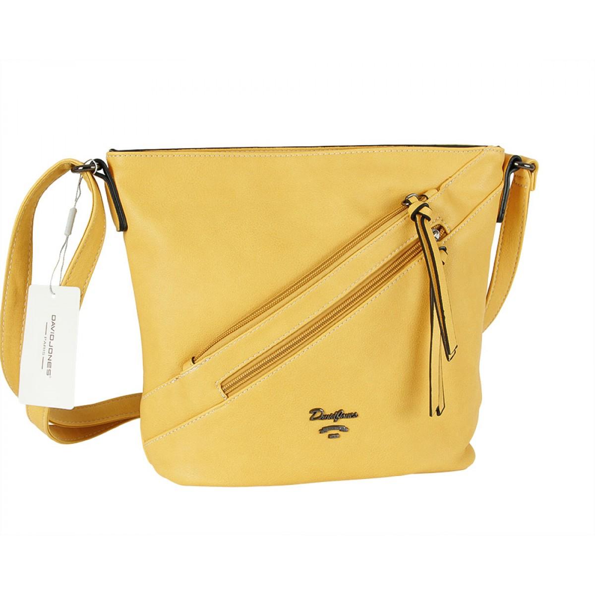 Жіноча сумка David Jones 6202-2A YELLOW
