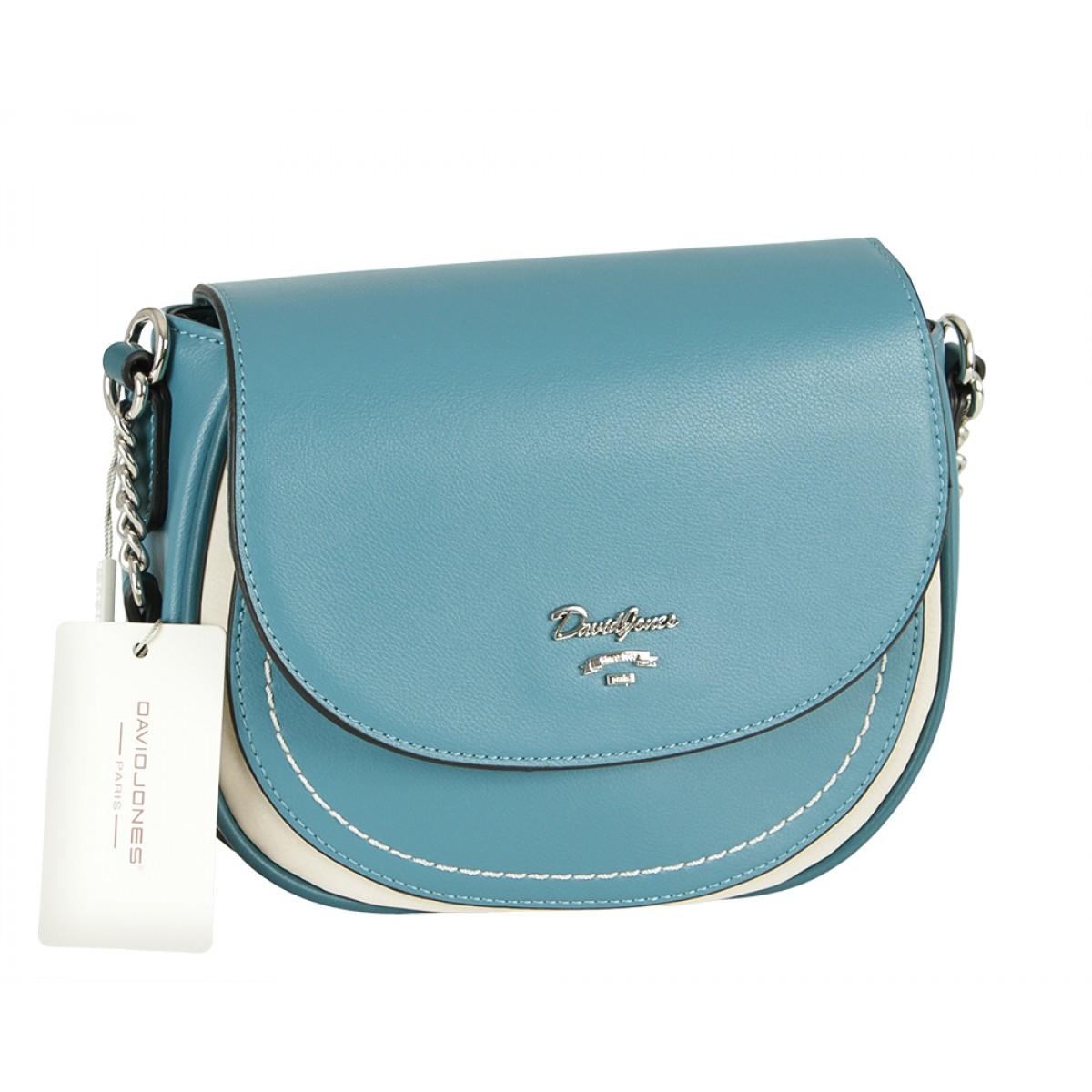 Жіноча сумка David Jones 6204-2 PEACOCK BLUE