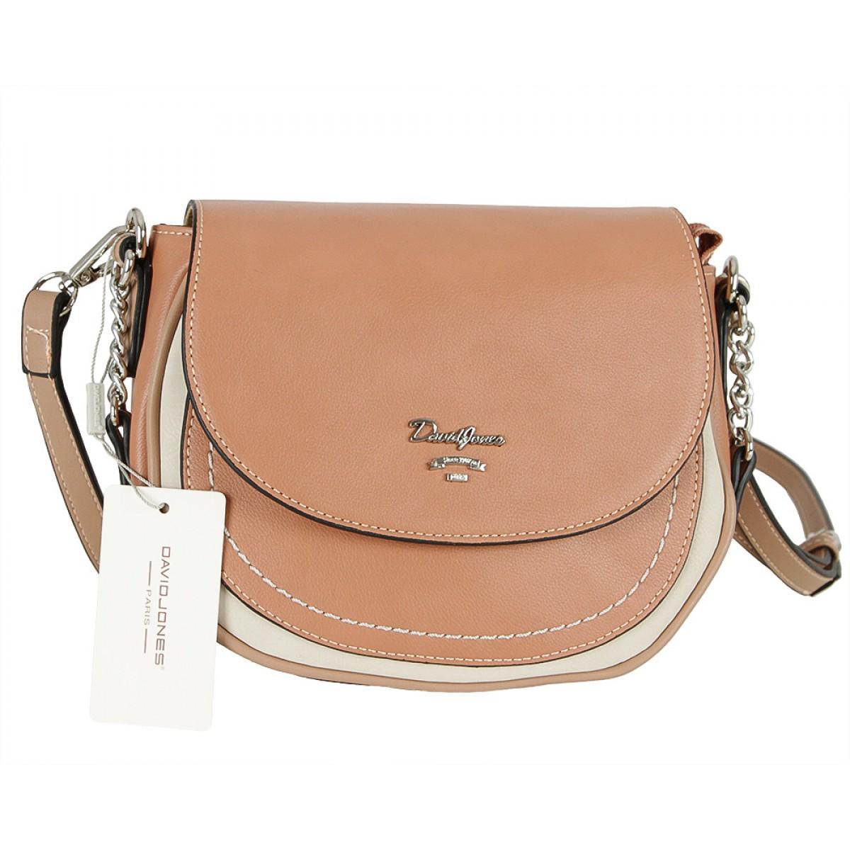 Жіноча сумка David Jones 6204-2 PINK