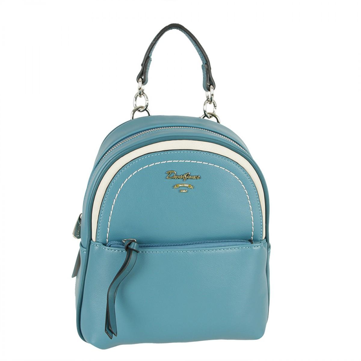 Жіночий Рюкзак David Jones 6204-3 PEACOCK BLUE