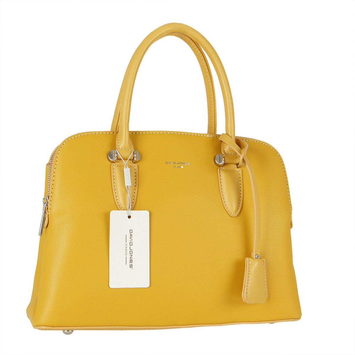 Жіноча сумка David Jones  6207-1A YELLOW