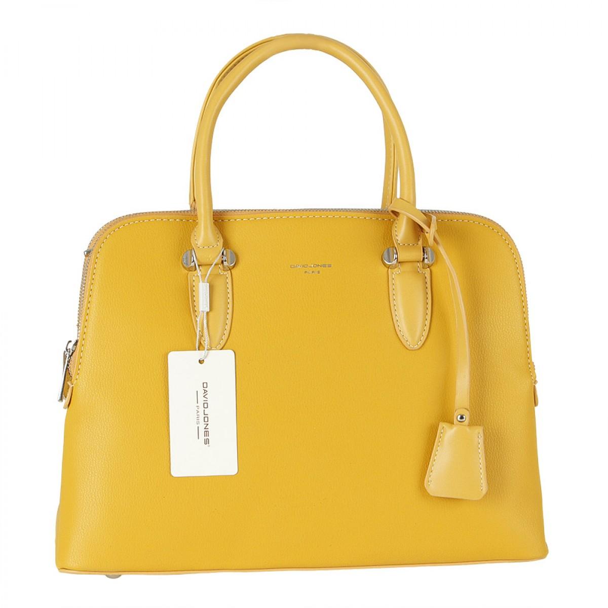 Жіноча сумка David Jones  6207-2A YELLOW