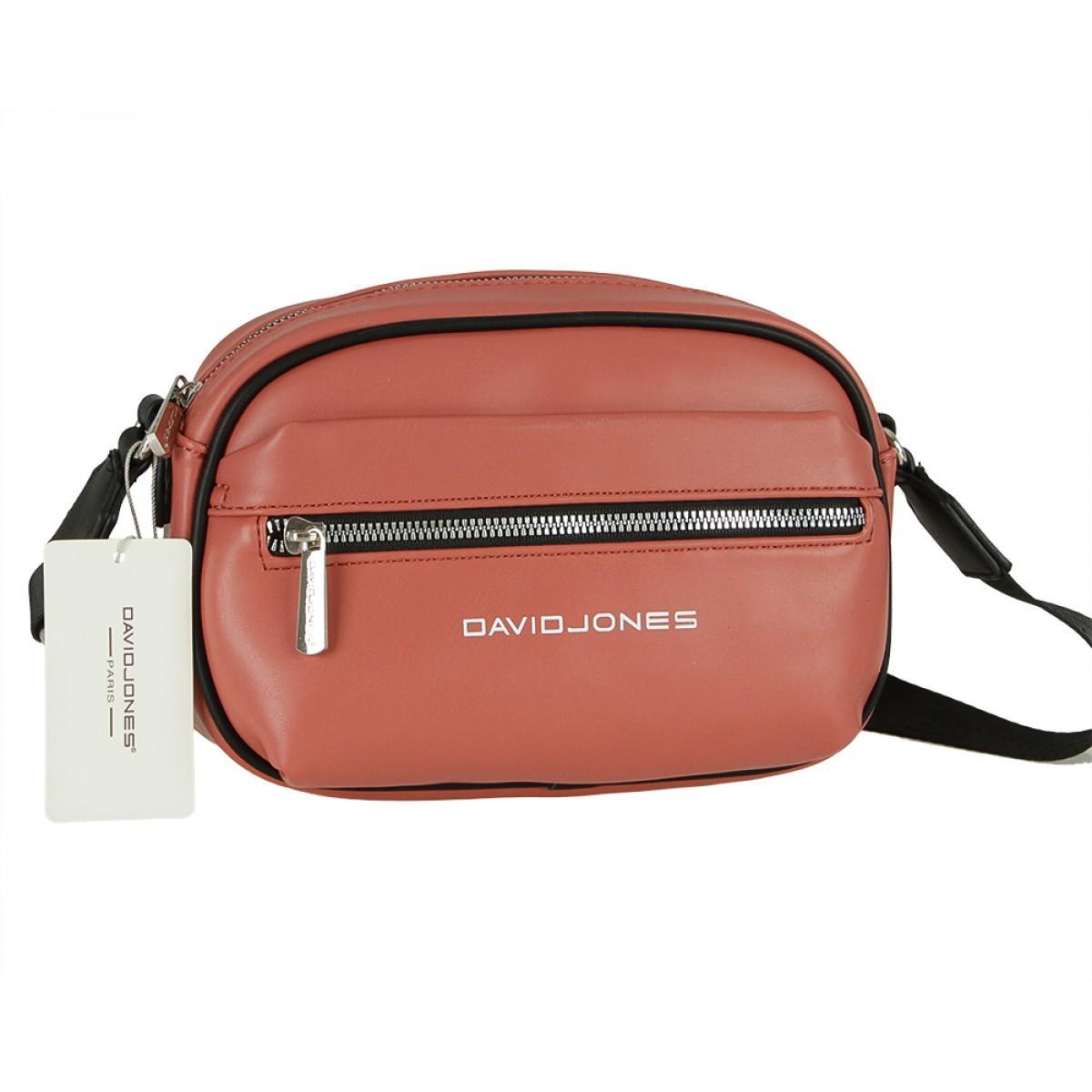 Жіноча сумка David Jones 6208-1 BRICK RED