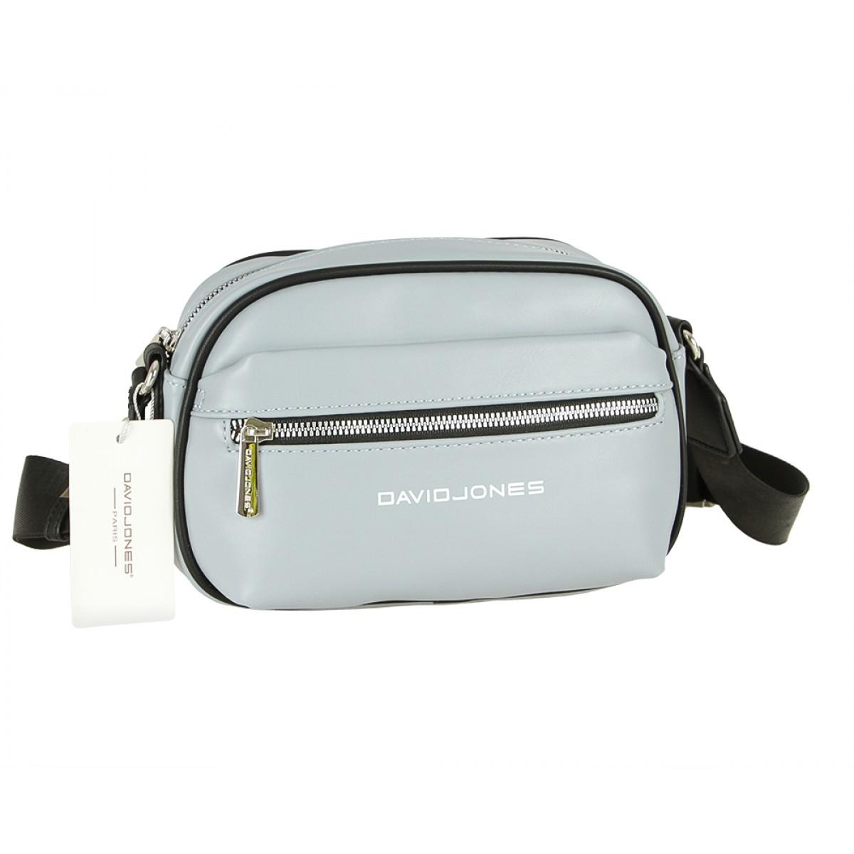 Жіноча сумка David Jones 6208-1 PALE BLUE