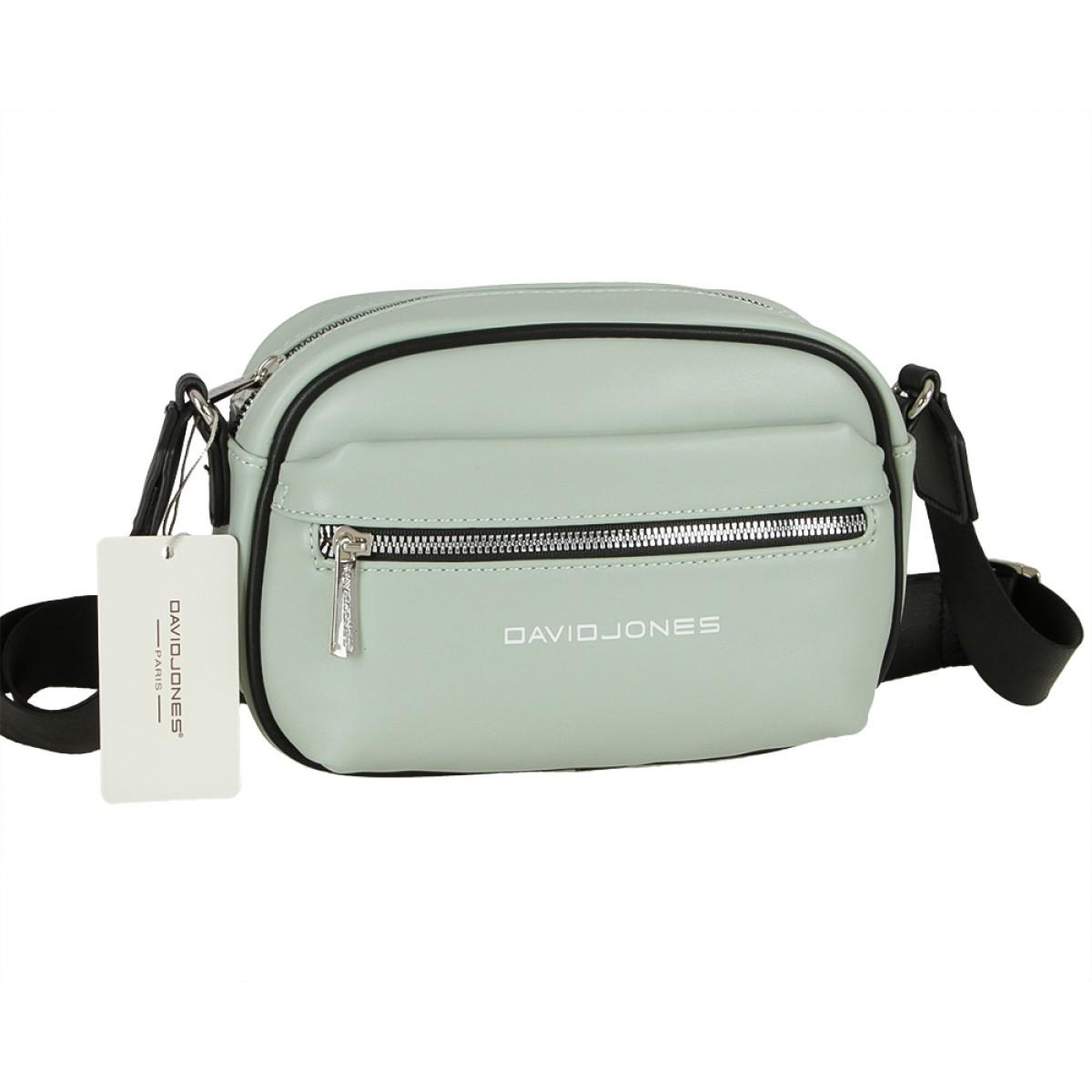 Жіноча сумка David Jones 6208-1 PALE GREEN
