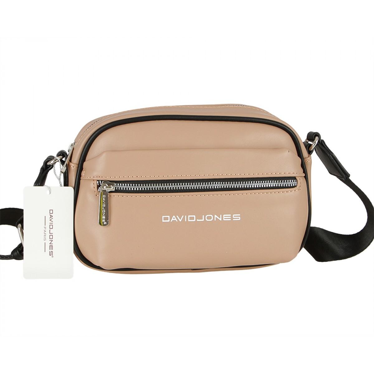 Жіноча сумка David Jones 6208-1 L.CAMEL
