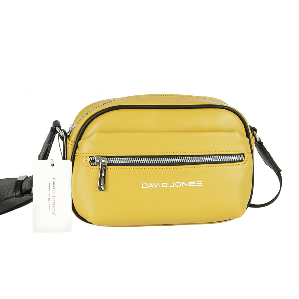 Жіноча сумка David Jones 6208-1 MUSTARD