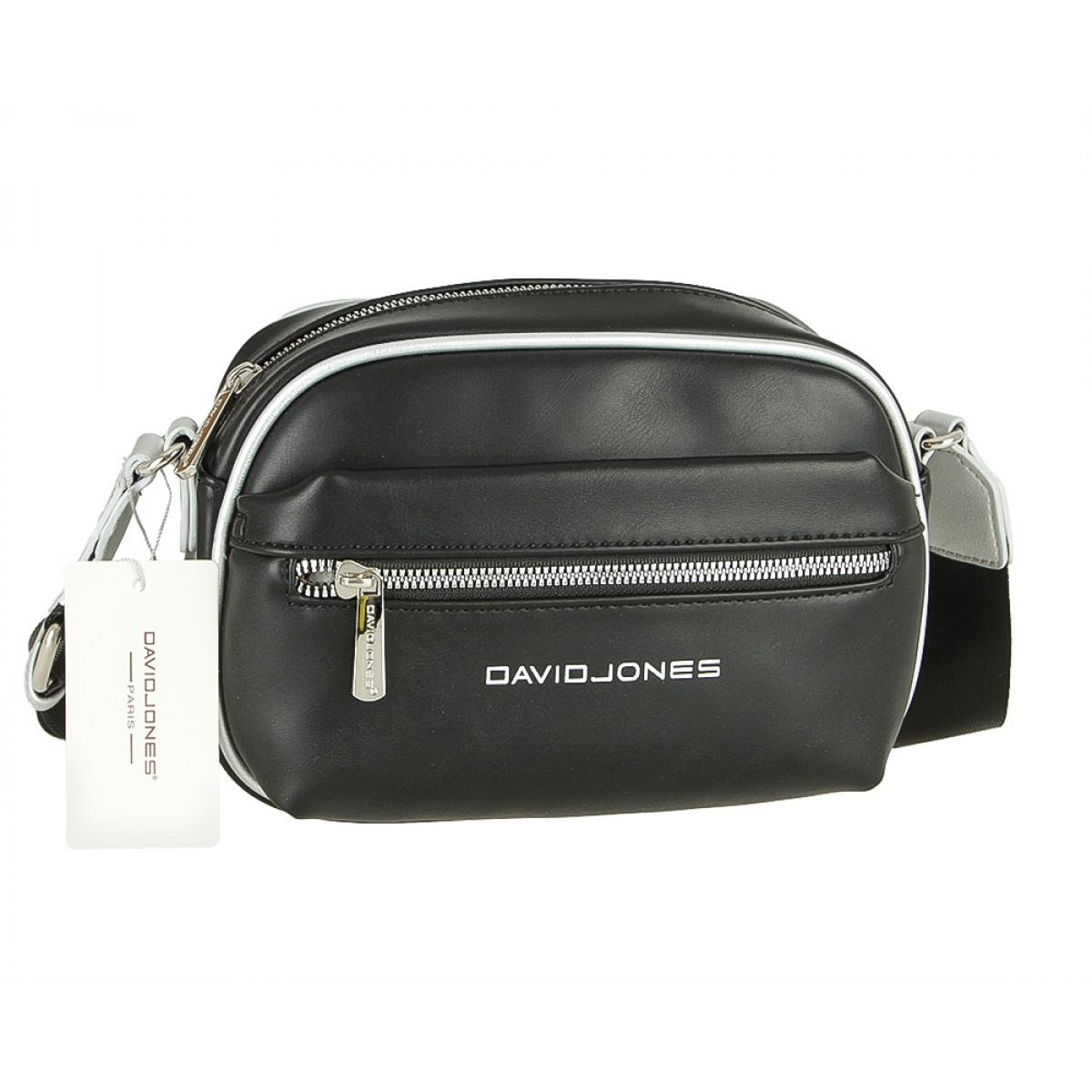 Жіноча сумка David Jones 6208-1 BLACK