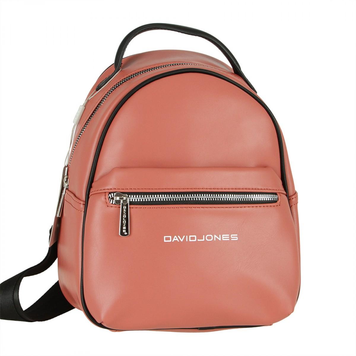 Жіночий рюкзак David Jones 6208-3 BRICK RED
