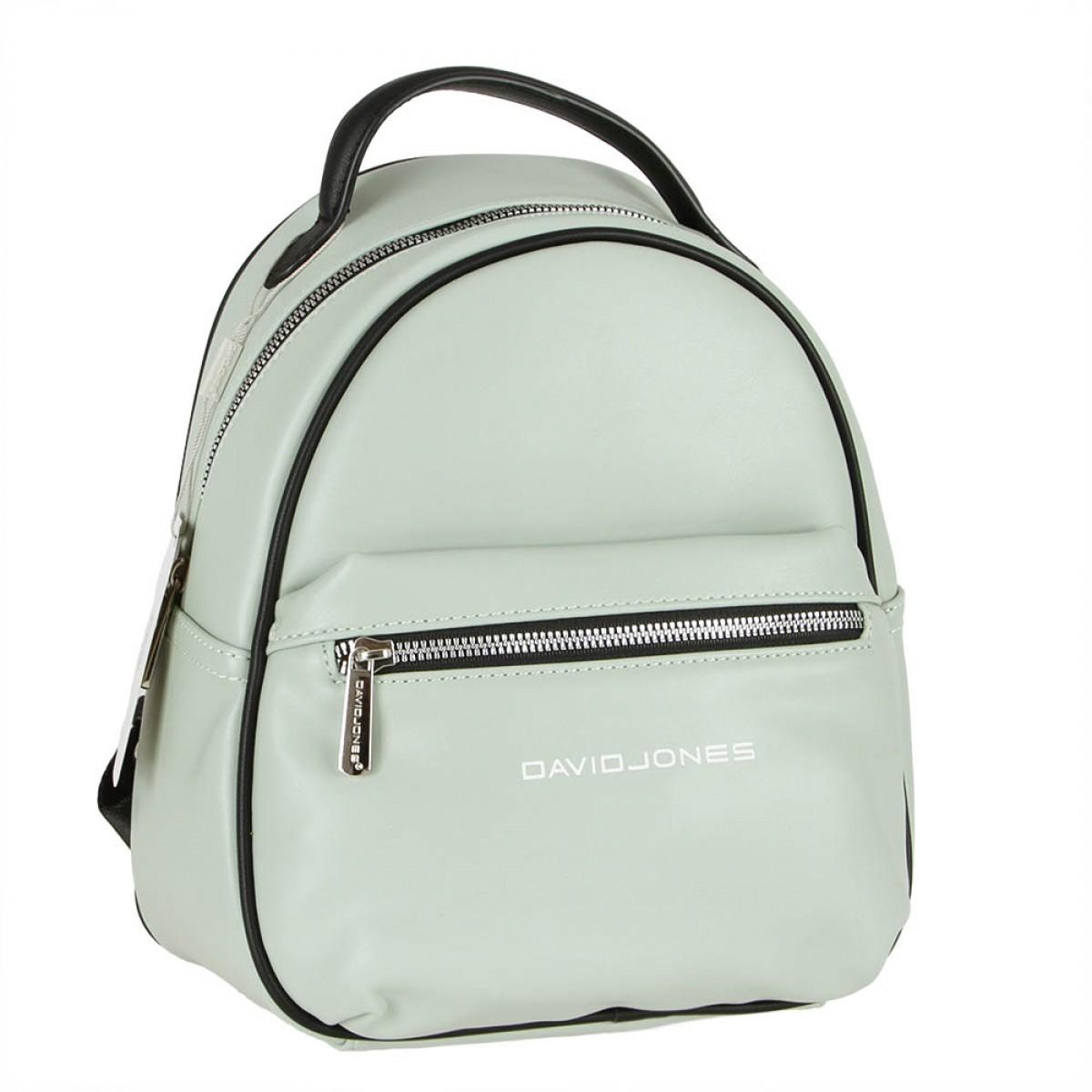 Жіночий рюкзак David Jones 6208-3 PALE GREEN