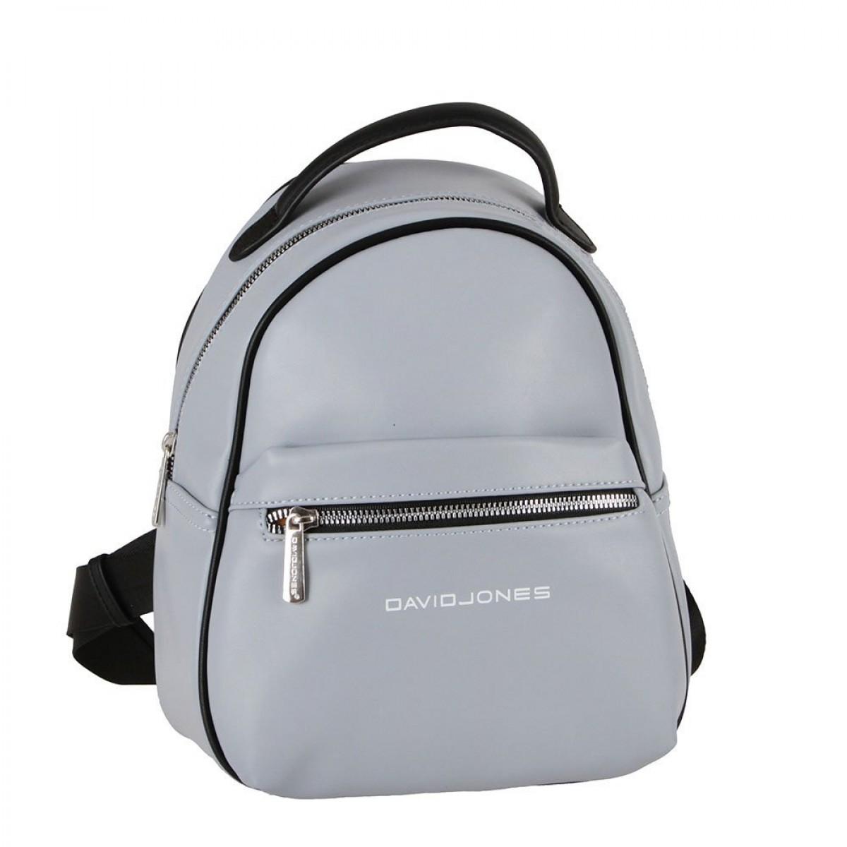 Жіночий рюкзак David Jones 6208-3 PALE BLUE