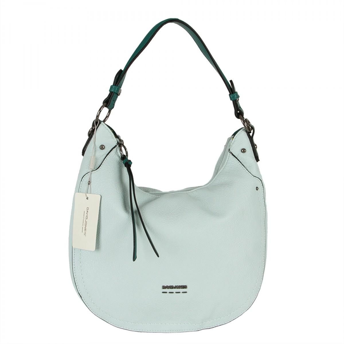 Жіноча сумка David Jones 6210-1 PALE GREEN