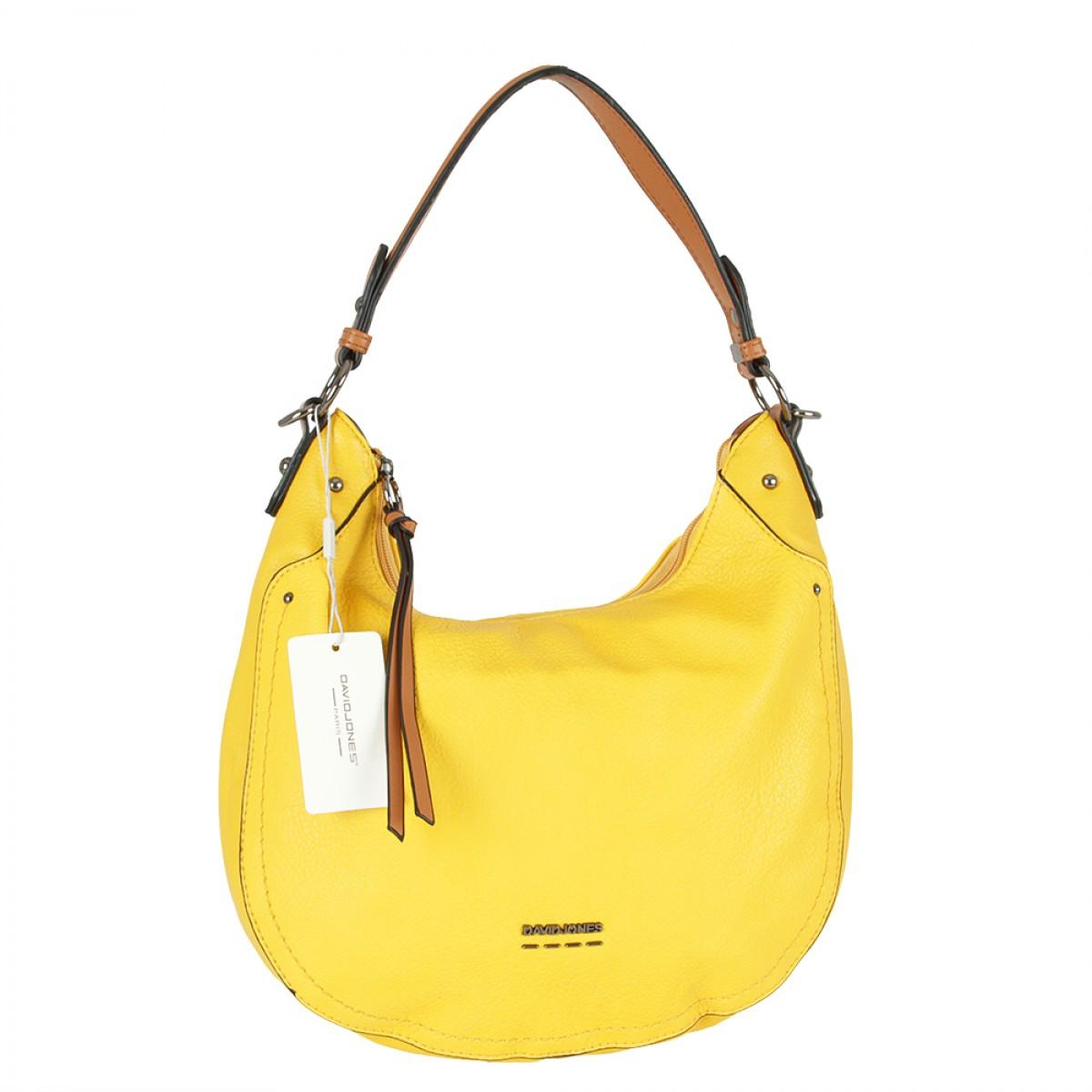 Жіноча сумка David Jones 6210-1 YELLOW