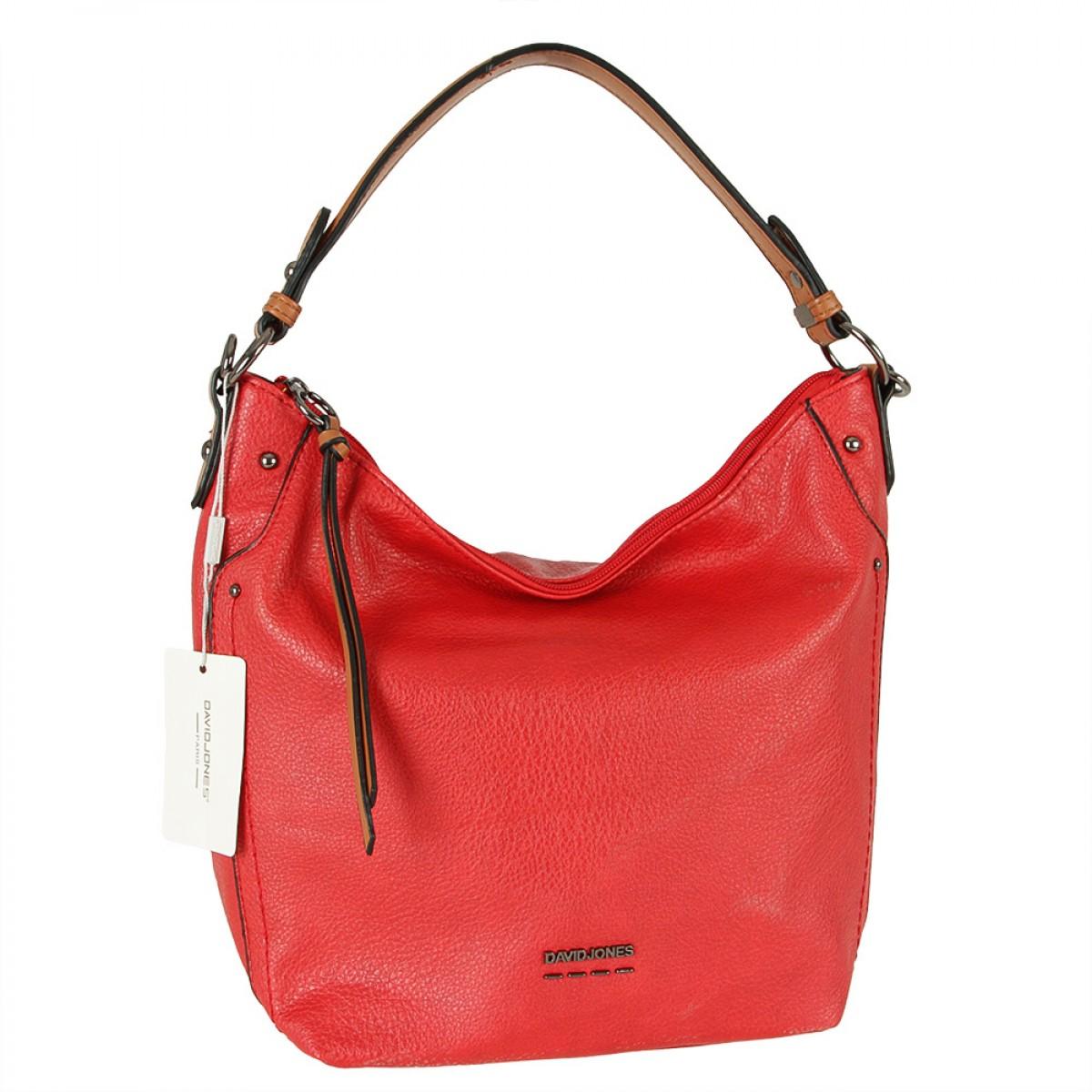 Жіноча сумка David Jones 6210-2 RED