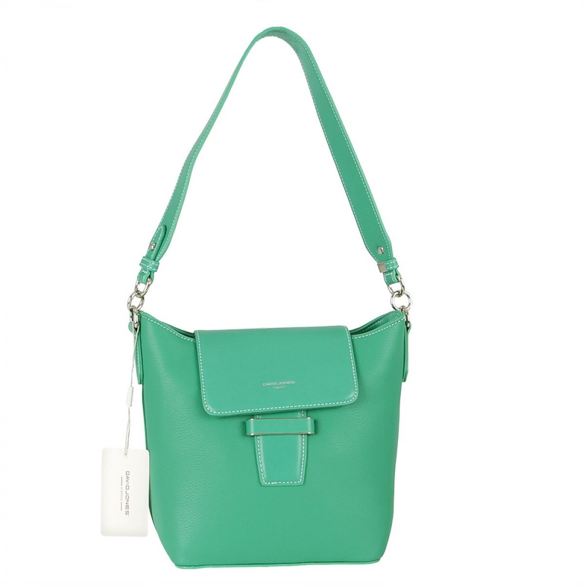 Жіноча сумка David Jones 6211-2 GREEN