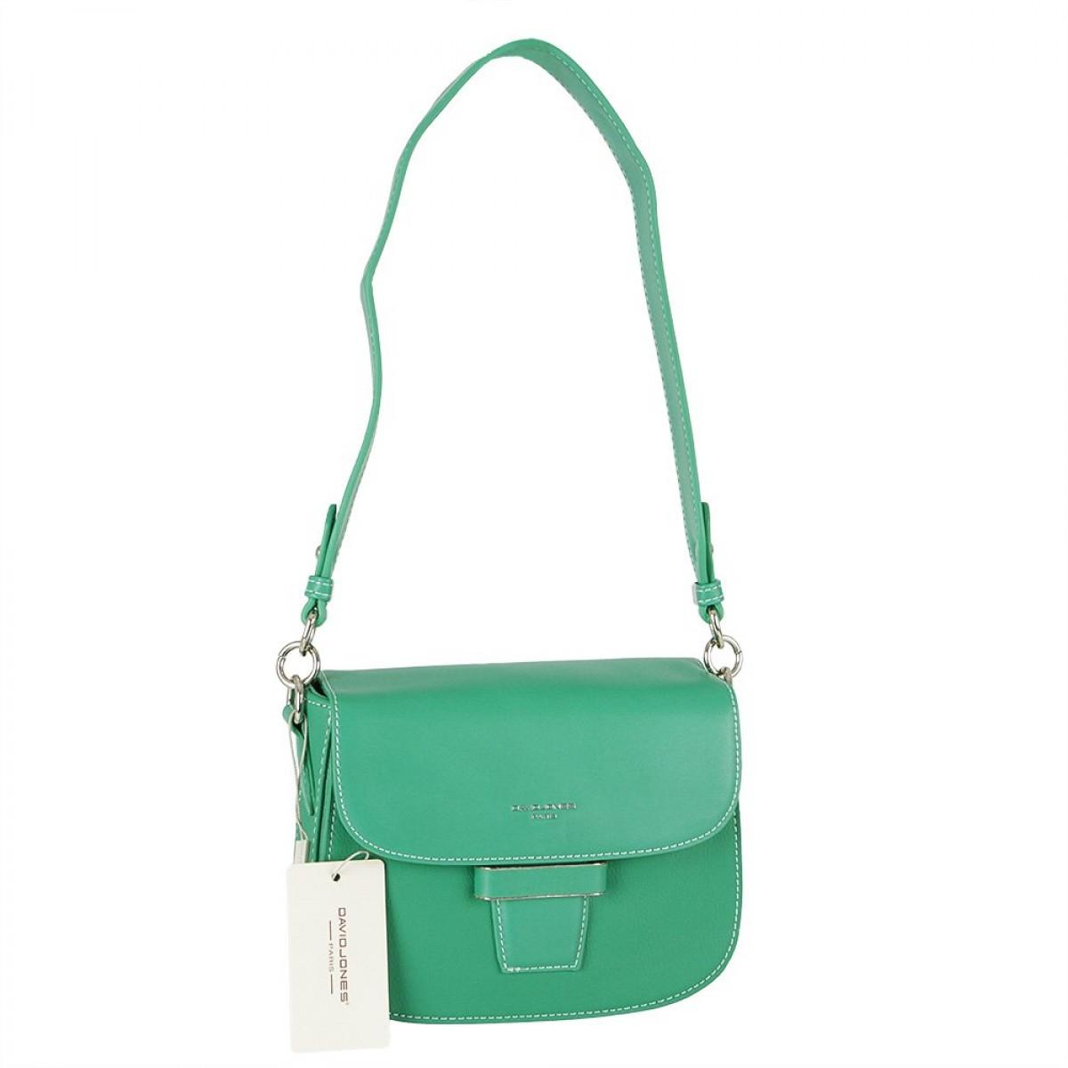Жіноча сумка David Jones 6211-1 GREEN