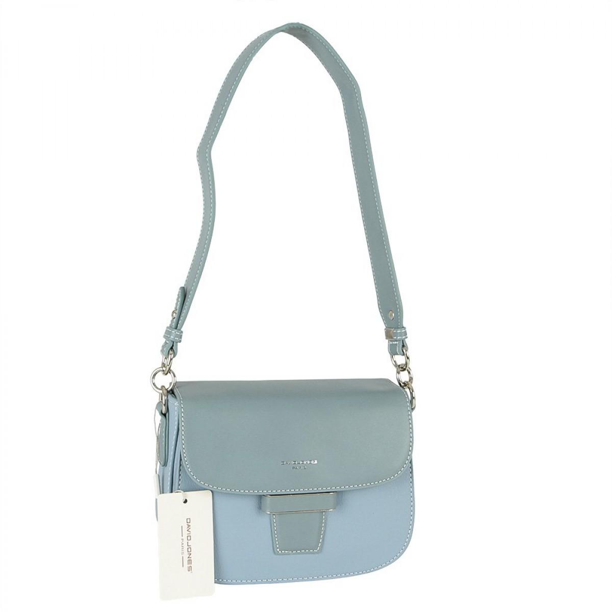 Жіноча сумка David Jones 6211-1 L.BLUE