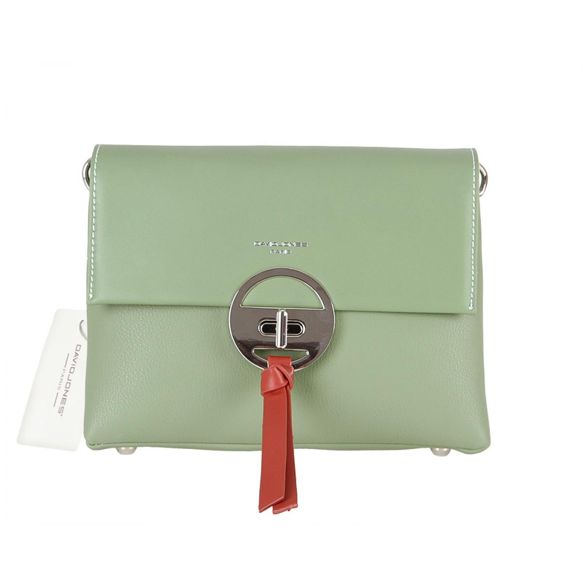 Жіноча сумка David Jones 6213-1 GREEN