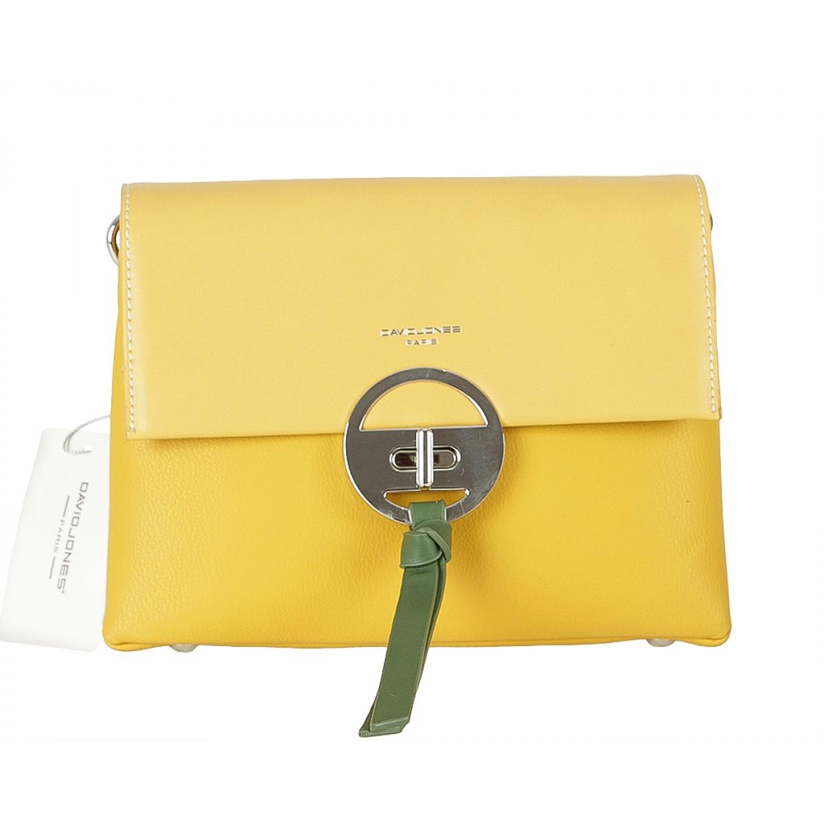 Жіноча сумка David Jones 6213-1 YELLOW