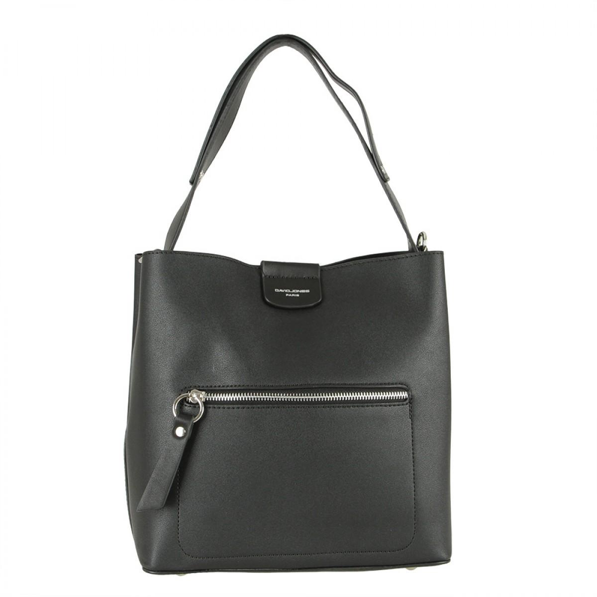 Жіноча сумка David Jones 6216-1 BLACK