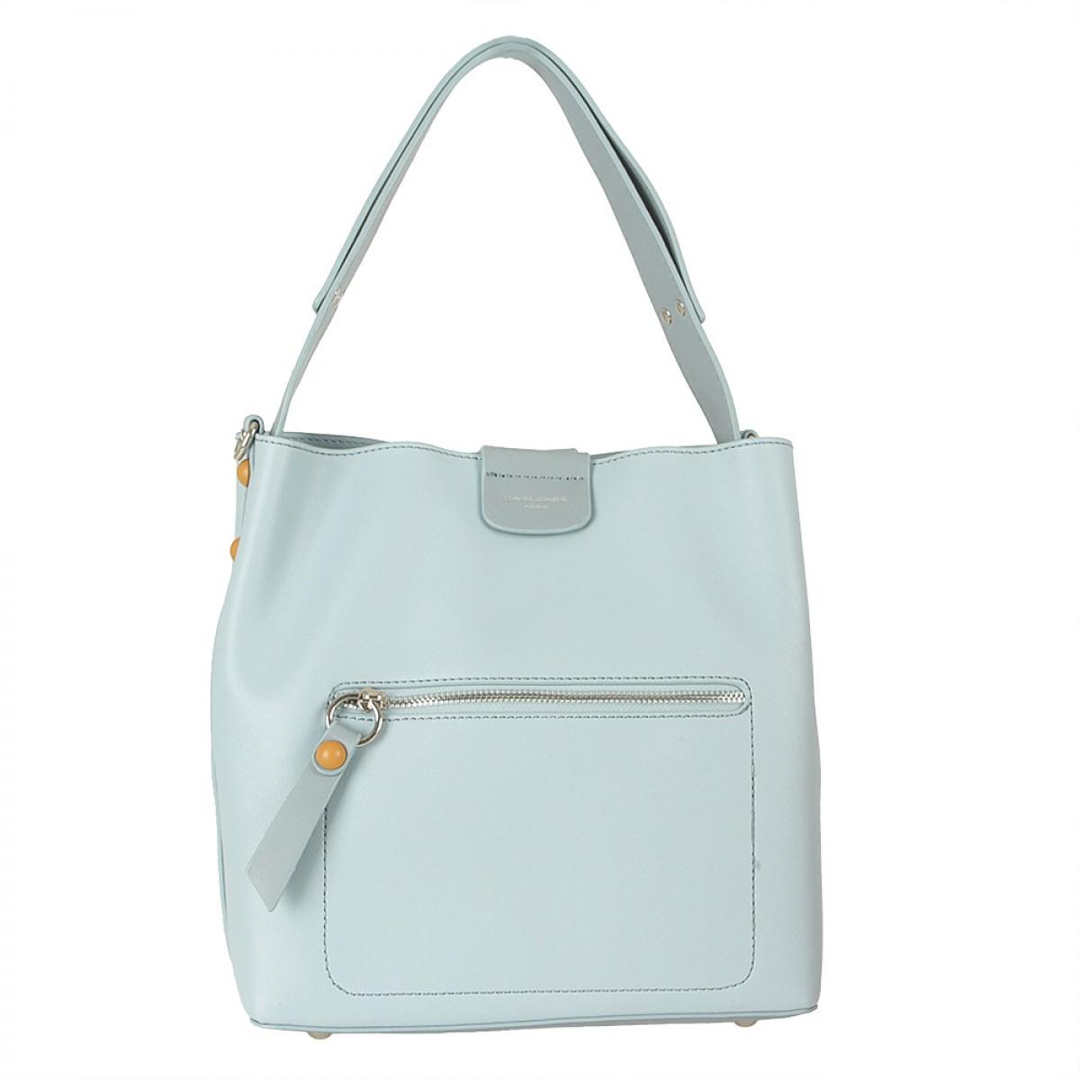 Жіноча сумка David Jones 6216-1 L.BLUE