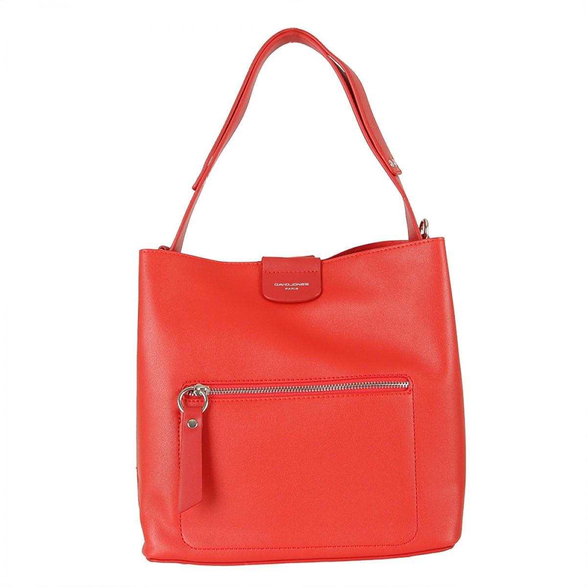 Жіноча сумка David Jones 6216-1 RED