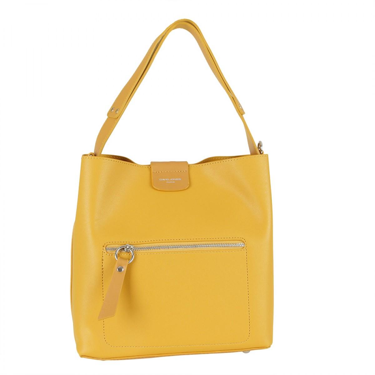 Жіноча сумка David Jones 6216-1 YELLOW